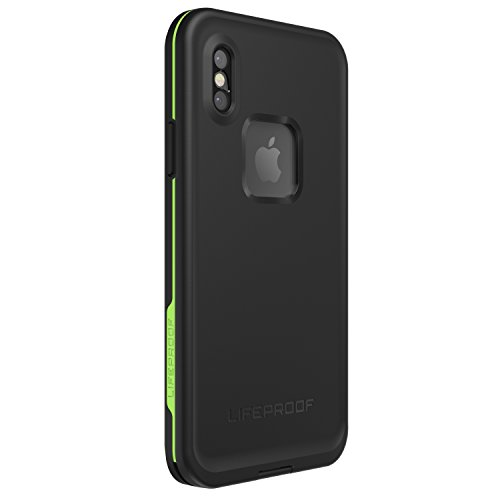 Lifeproof FRĒ SERIES Waterproof Case for iPhone X (ONLY) - Retail Packaging - NIGHT LITE (BLACK/LIME) by LifeProof (Image #7)