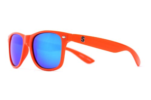 NCAA Syracuse Orange SYR-1 Orange Frame, Blue Lenses Sunglasses, One Size, ()