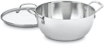 Cuisinart 755-26GD 5-1/2-Quart Multi-Purpose Pot With Glass Cover