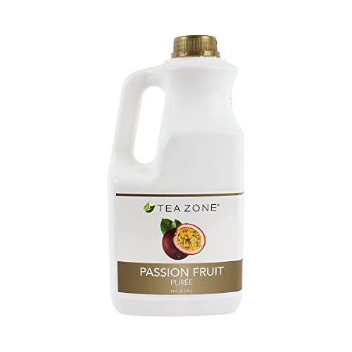 Tea Zone Passion Fruit Puree, 64 Fluid Ounce by Tea Zone