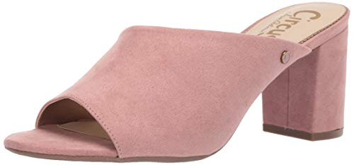 Circus by Sam Edelman Women's Suzanna Heeled Sandal Cameo Pink Microsuede 8 M US