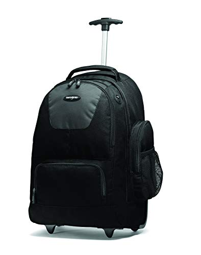 (Samsonite Wheeled Backpack (21 x 8 x 14), Black/Charcoal)