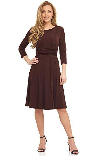 3/4 length sleeve dress canada - 5