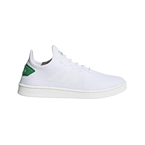 adidas Men's Court Adapt, White/Green, 11 M US