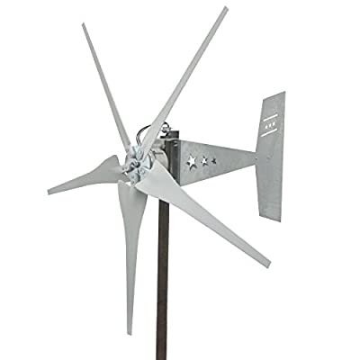 Missouri Freedom 5 Blade Wind Turbine Generator (12 Volts)
