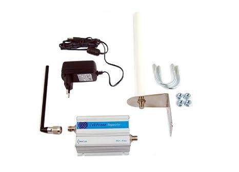 KIT Amplificador repetidor de cobertura móvil UMTS (Voz y datos 3G) hasta 100 m2: Amazon.es: Electrónica
