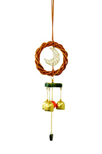 FancyteHandcrafted Bell Wind Chime Soothing Melodic Tones and Gift Essentials,Beautiful Home Decor Indoor Outdoor Patio,Garden Backyard Gift Exclusive Pirate's Decor Collectibles Made Wild (Simple Space Themed Costumes)