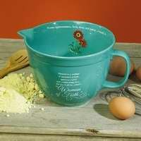 Woman of Faith Mixing Bowl (Abbey Bowl)