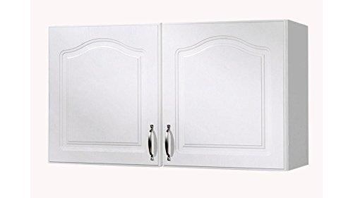 WIHO KÜCHEN Küchenhängeschrank Lausanne, B/T/H: 100/35/56 cm weiß