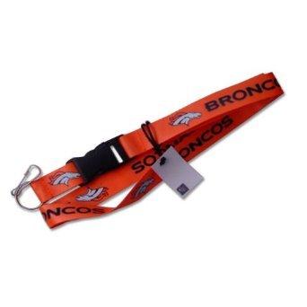NFL Denver Broncos Team Color Lanyard, 22-inches, Orange]()
