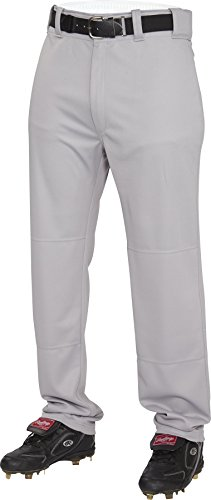 Rawlings  Men's Semi-Relaxed Pants, Large, Blue/Grey