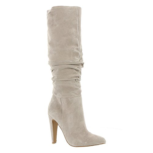 Steve Suede Fashion Boot Madden Women''s Carrie Grey r047rOnY