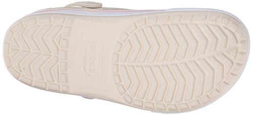 crocs Unisex-Erwachsene Crocband II.5 Clog Pantoletten Beige (Stucco/Melon)