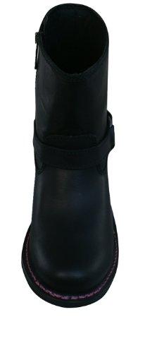 Harley Davidson Morgan Womens Leder Ankle / Biker Boots - schwarz