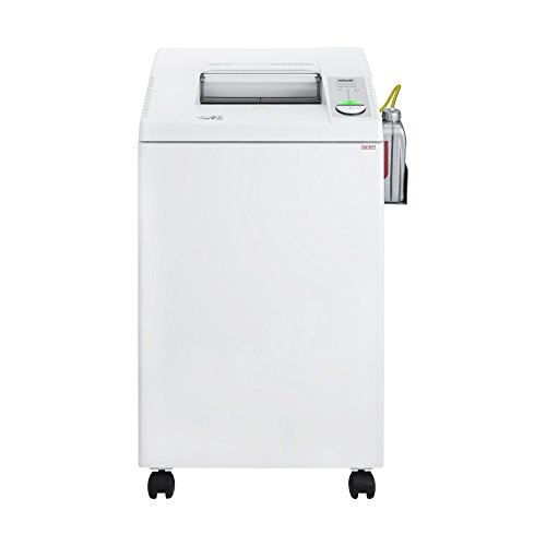 ideal. 2604 Continuous Operation Cross Cut Centralized Office Paper, Staple, Paper Clip, CD, DVD Shredder with Automatic Oiler, 23 to 25 Sheet Feed Capacity, 26 gal Bin