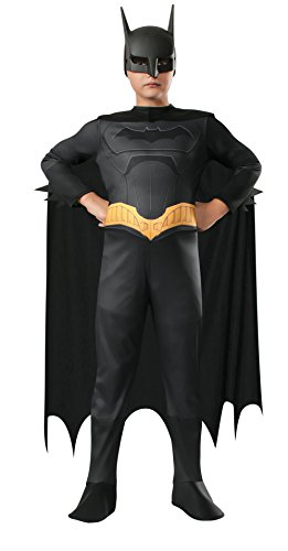 Rubies Beware the Batman, Batman Costume with Mask, Child (Batman Outfit Child)