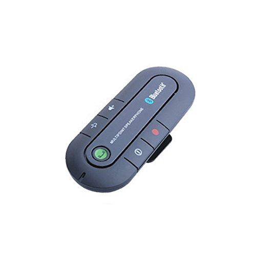 - Amyove Car Sun Shield Mount Bluetooth 4.2 Car Hands Free Speakerphone System Calling Car Adapter Black