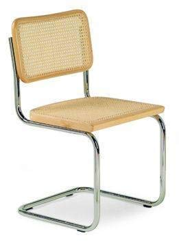Marcel Breuer Cesca Cane Chair (Natural Color) (Breuer Chair Seat)