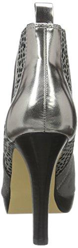 La Strada 909536, Zapatillas de Estar por Casa para Mujer Gris - Grau (2203 - micro grey)