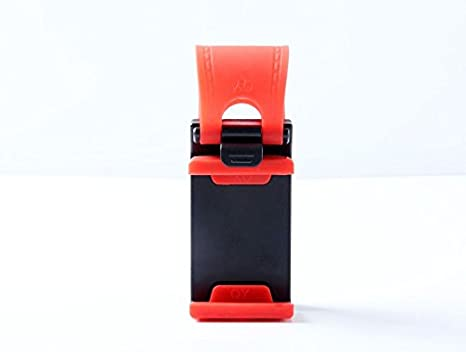 El volante del coche sujetador del conector del teléfono móvil para iPhone 6 7 6S más 5S SE 4S 5C para Samsung Nota5 HTC Huawei Xiaomi: Amazon.es: ...