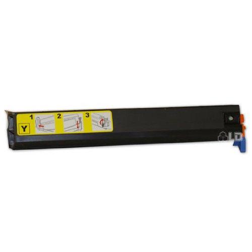 C9500 Yellow Toner (LD Okidata C9300/C9500 Series Type C5 Compatible High Yield Yellow 41963601 Laser Toner Cartridge)