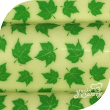 Amazon.com: Green leaves edible chocolate transfer sheet