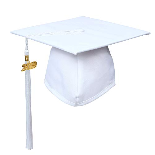 white graduation cap - 5