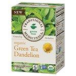 Organic Green Tea, Dandelion 16