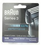 Braun Shaver Parts 30b - Braun Series 3 30B Foil & Cutter Replacement Head,  Compatible with 7000/4000 range of shavers; and Previous Generation Series 3 (340s)