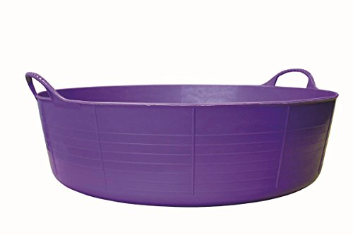 Tubtrugs SP35P Flexible Purple Large Shallow 35 Liter/9.2 Gallon Capacity