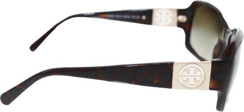 Tory Burch TY 9028 TY9028 Sunglasses 51013-56 - Tortoise Frame, Khaki Gradient