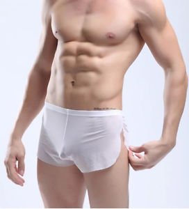 9a0e856557b Amazon.in  Buy Mens Low Rise Semi See Through Mesh Hot Sexy Boxers ...