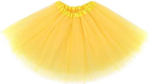 Ksnrang Tutu Faldas de Mujer Adultos Tutú Skirt de Tul 50s ...