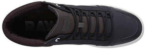 G-star Raw Mens Zlov Cargo Mid Sneaker Dark Navy