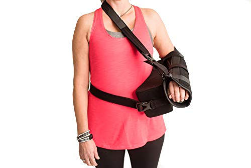 (The Orthopedic Guys Shoulder Abduction Sling Rotator Cuff Immobilizer Support Brace with Pillow & Ball,)