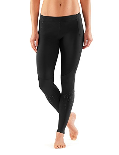 SKINS Women's A400 Compression Long Tights, Nexus, Large by Skins