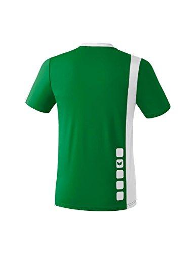 Erima Zamora - Camiseta de fútbol émeraude/blanc