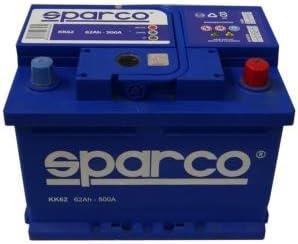 Batería para coche Sparco KK62-62 Ah
