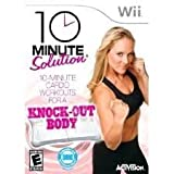 Wii Fit Plus Balanace Board Bundle / Biggest Loser / 10 Minute Solution Knock Out Body