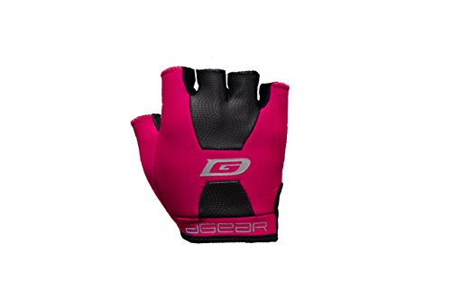 Damascus Protective Gear OG5PWXS DGearOG Women's Obstacle Course Racing Half-Finger Gloves, Pink, X-Small