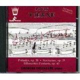 Louis Vierne Preludes, Georges Delvallee piano