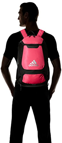 adidas Stadium Team Backpack 8 Lifetime warranty - built to last. Front pocket is built with FreshPAK ventilation for your cleats and sneakers. Hydroshield water-resistant base, extra durable 3d ripstop fabric, and space for your team branding.