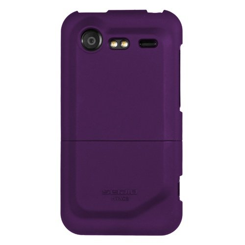 - Seidio SURFACE Case for HTC Incredible 2/S - 1 Pack - Retail Packaging - Amethyst