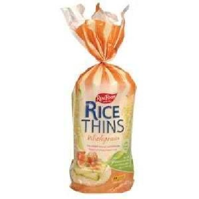 Real Foods Wg Rice Thins 24x 5.3OZ by Real Foods
