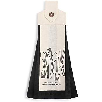 Amazon Com Seasoned With Love Black 20 X 6 Cotton Fabric