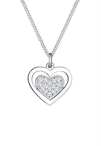 Elli Femme  925  Argent #Silver Balle   Argenté Zircon