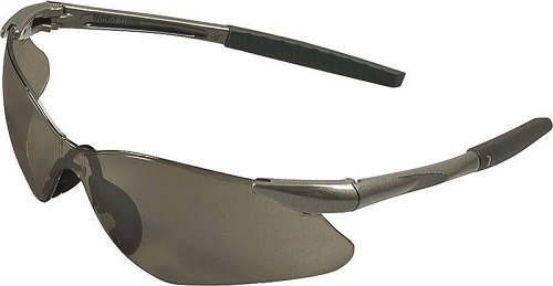 Jackson 3013538 KC25704 Nemesis VL Safety Glasses Gun Metal Frame Smoke Lens, 1 Pair
