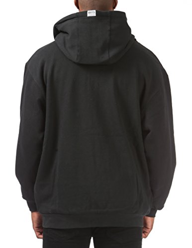 Pro Club Men's Full Zip Reversible Fleece and Thermal Hoodie 2