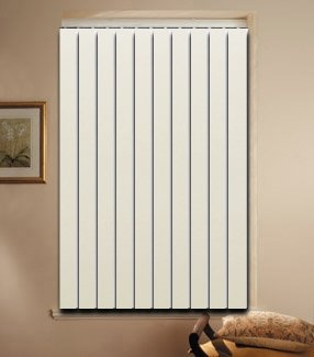 PVC vertical blinds size 73''wide x 60'' height various color and sizes available by Graber