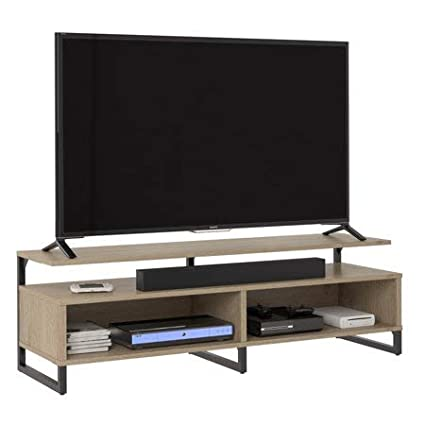 Amazon Com Ameriwood Home Whitburn Tv Stand Tvs Up To 65 Rustic